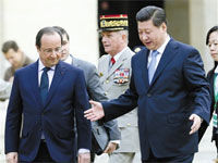 习近平法国演讲:中国这头狮子已经醒了