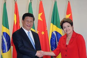 国家主席习近平在巴西进行国事访问