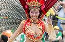街拍日本桑巴舞狂欢节