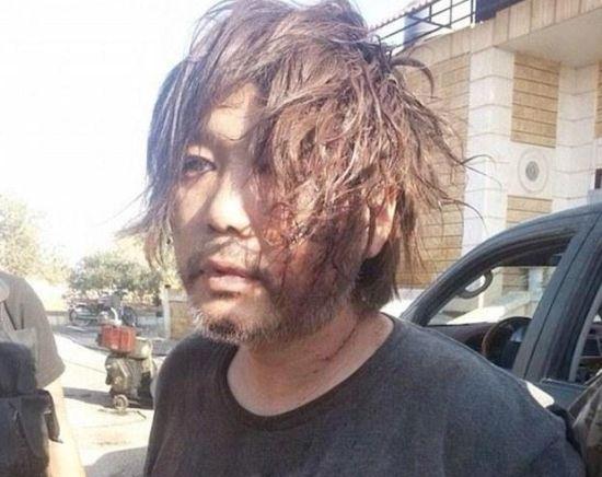 汤川遥菜去年8月份被ISIS劫持。