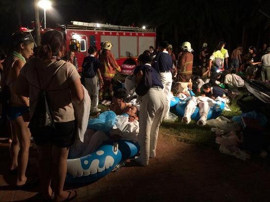 台湾游乐园粉尘爆炸事故原因仍在调查