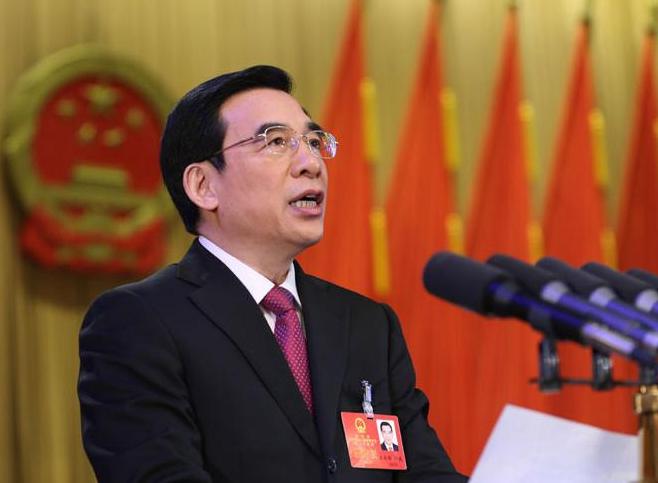 北京十四届人大四次会议开幕 市长王安顺作政府工作报告