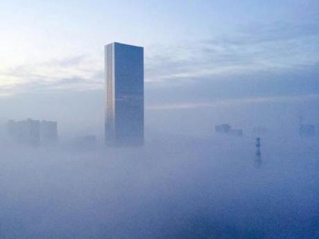 石家庄浓雾 网友称到了迪拜