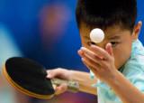 图文:两百乒乓小选手角逐十八枚金牌