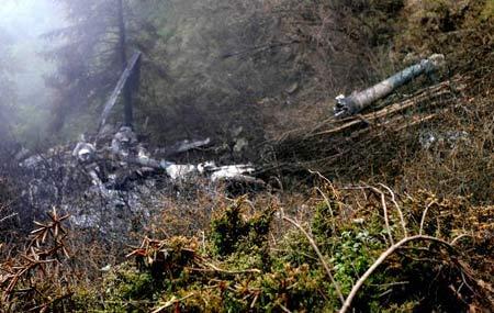 失事直升机18位遇难者遗体已完成身份确认