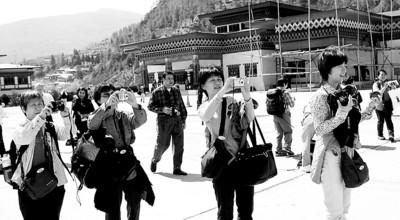 去不丹旅游,要过三道关