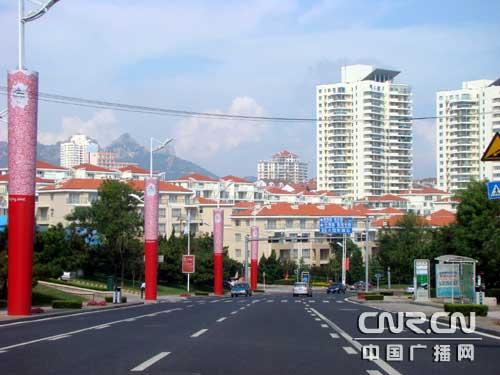 中国零点标志景观在青岛[组图]