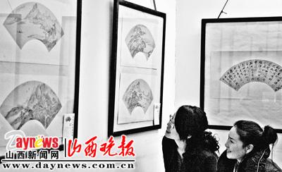 中国近现代书画扇面展 在省城开展