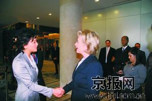 杨澜专访希拉里:中国之行令其深受鼓舞
