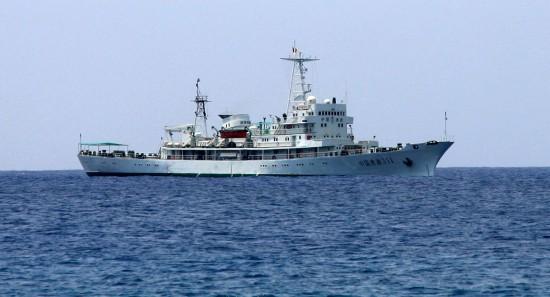 我国3艘渔政船会师西沙海域执行维权护渔任务
