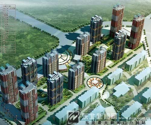 和平区长白岛管委会副主任荆伟介绍说,一期项目预计2011年8月完工.