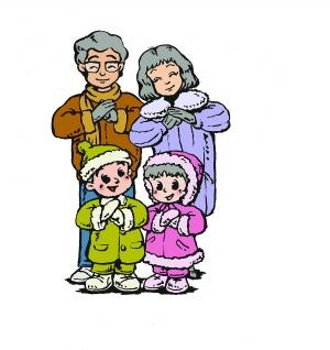 幼儿园楼梯卡通安全标志