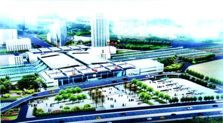 福州:火车北站今年开建北站房