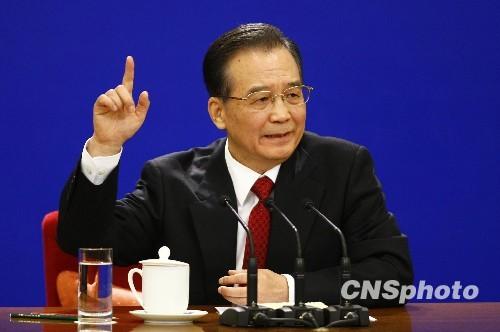 温家宝:美欧承认中国市场经济地位有利贸易平衡