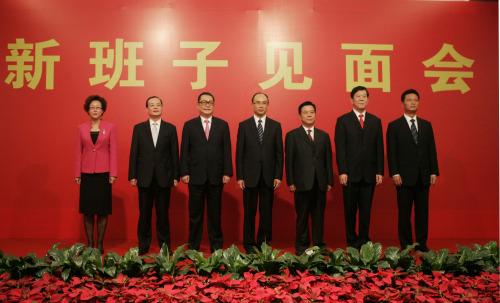 刘玉浦当选深圳市人大主任许勤当选市长(组图)
