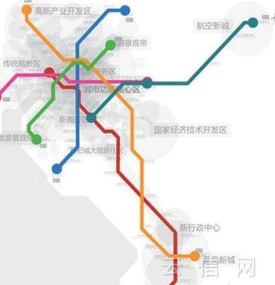 昆明地铁6种色彩你喜欢吗