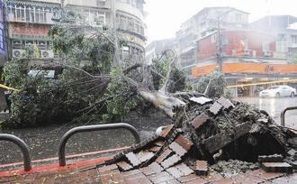 台湾解除台风米雷海上警报 仍发布暴雨特报