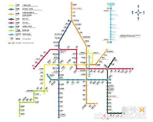 广州地铁如厕攻略 144个沿线厕所助 方便图片