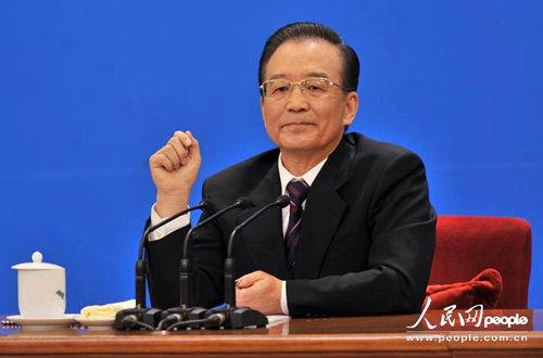 国务院总理温家宝答中外记者问
