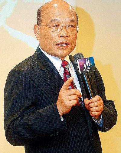 苏贞昌将参选民进党主席,9日特地到台北监狱探望陈水扁。图片来源:台湾《苹果日报》