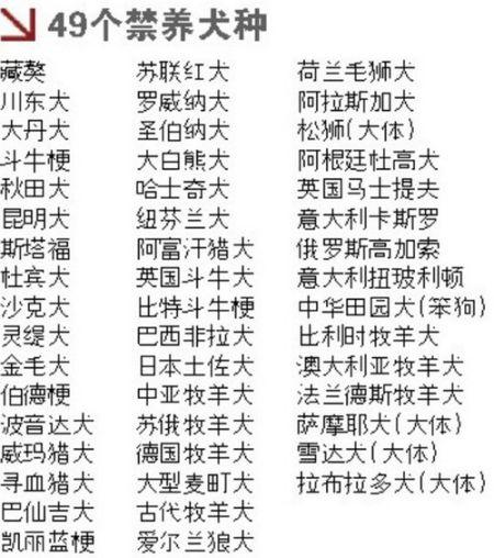 哈尔滨将开发布会回应禁养大型犬事件
