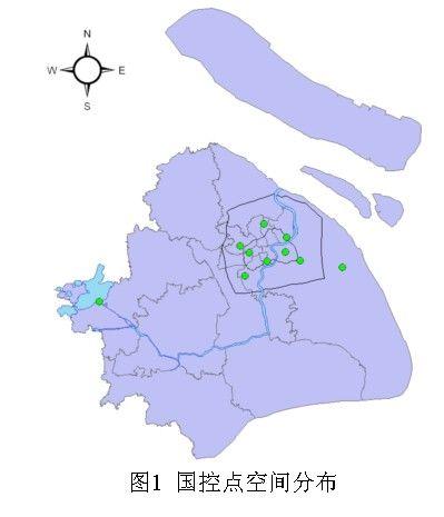 上海市中心城区地图