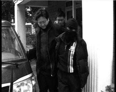 警方将葛晓明抓获归 案。警方供图