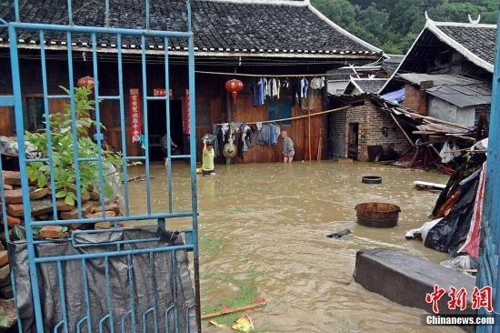 7月23日9时至12时,贵州省黔东南州台江县中部、北部乡镇出现短时强降雨天气
