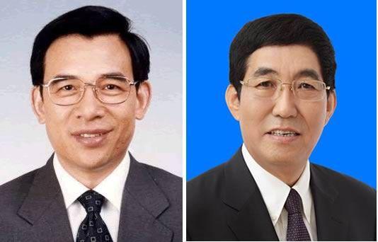 王安顺(左)、 巴音朝鲁(右)