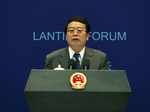 """外交部部长助理程国平在第三届""""蓝厅论坛""""上的主旨演讲"""