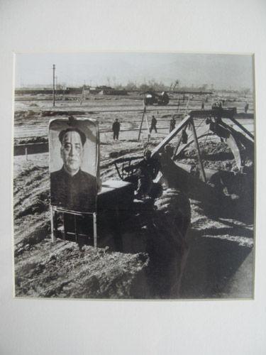 新华社记者张杰在上世纪50年代拍摄的兰炼建设工地。资料图片