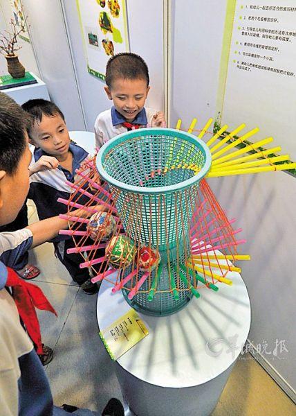 教育局,科信局,青科教协等单位主办的2013年广州科技周儿童活动专场