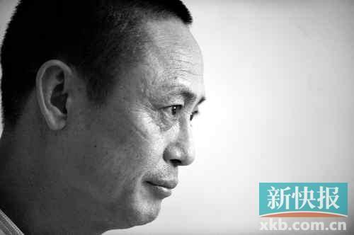 赵海滨回家后,一直在广州某医院疗养。新快报记者孙毅/摄