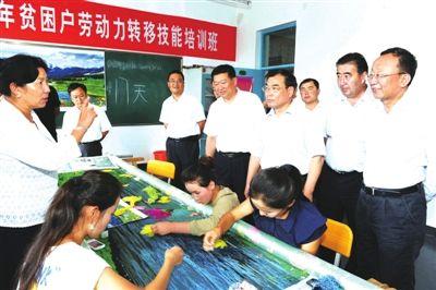 伊犁州党委书记黄三平在尼勒克县调研