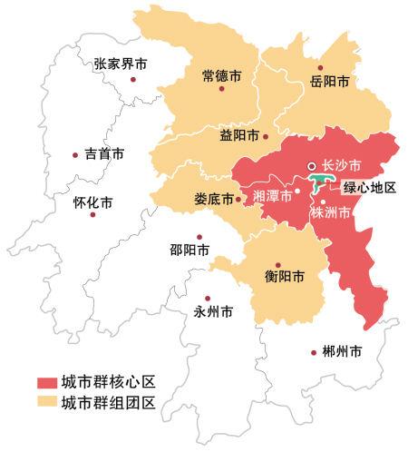 湖南地�_浏阳河生态经济示范区在湖南省位置示意图.
