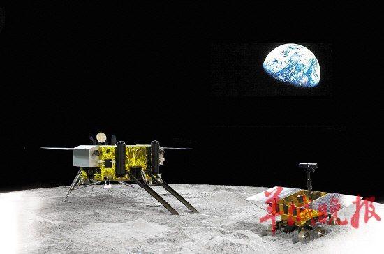 玉兔探月前奏   羊城晚报西昌讯 特派记者鲁钇山报道:今天上午,举世瞩目的嫦娥三号月球探测器发射工作进入发射前工作程序。至记者发稿时止,常温推进剂的加注已经基本结束,今日下午发射前数小时将进入危险系数极高的低温加注剂加注,该步骤开始之后火箭即如箭在弦,必须按步骤进行发射。   西昌今日天气晴好,艳阳高照,是连续一周以来最好的一天。在西昌发射场现场,记者看到众多工作人员都在忙碌工作,推进剂沿着网状的巨大输送管道进入火箭,多辆消防车等在现场随时待命,一切有条不紊。西昌卫星发射中心党委书记、任务发射场区指
