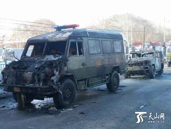 2月14日16时许,阿克苏地区乌什县发生一起袭警案件。