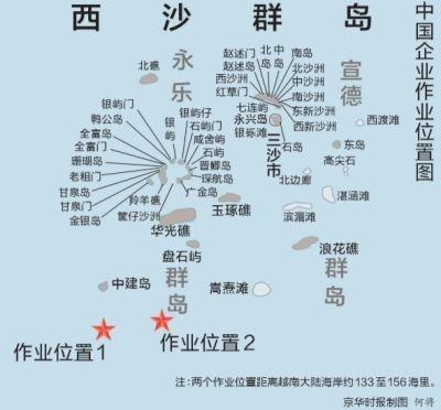 越方文件承认中国领海主权