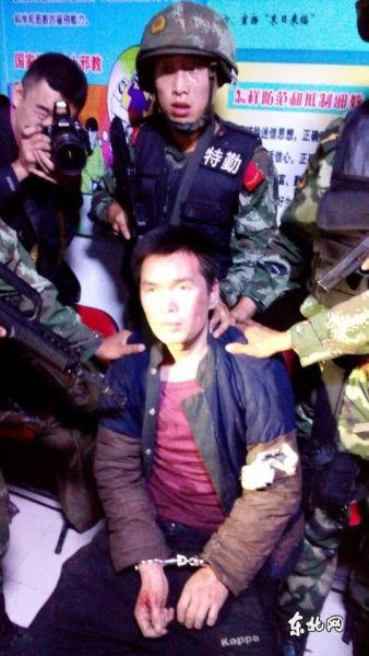 嫌犯李海伟稍早前被抓获。