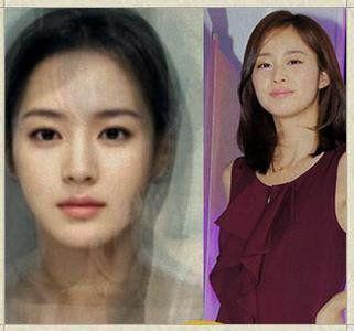 为啥没整容的韩国美女看起来那么像