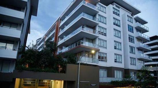 苏冠林和钱一在悉尼的一处公寓。