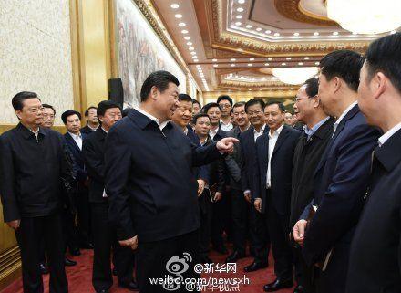 习近平同中央党校第一期县委书记研修班学员进行座谈