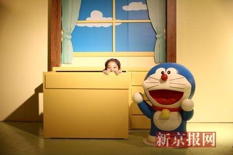 哆啦a梦手绘原稿亮相北京