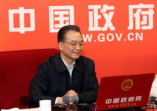 组图:温家宝总理回答网友问题