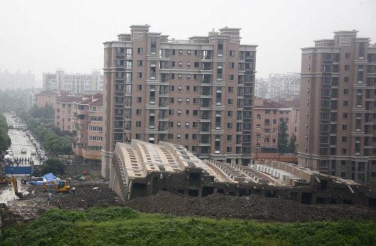 上海在建房屋倒塌  - 追逐流逝的岁月 - haiyang.9831的博客