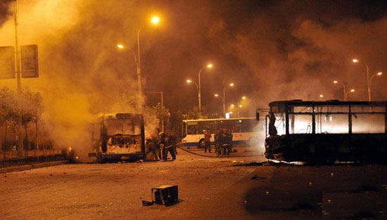 乌鲁木齐发生打砸抢烧严重暴力犯罪事件