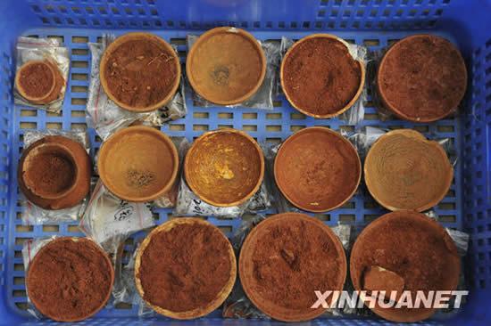 广州发现大型先秦古墓群出土千件文物(组图)