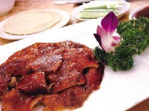 北京特色美食全聚德烤鸭(组图)