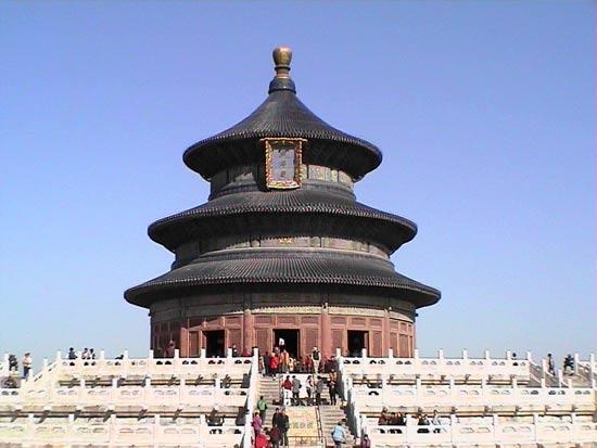 天坛公园为明清两朝皇帝祈祷丰年专用祭坛(图)