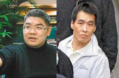 连胜文(左)与林正伟(右)资料图